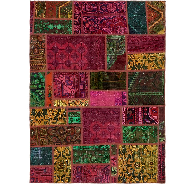 5' 7 x 7' 6 Ultra Vintage Persian Rug