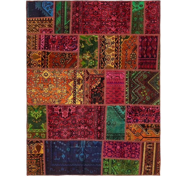 170cm x 225cm Ultra Vintage Persian Rug