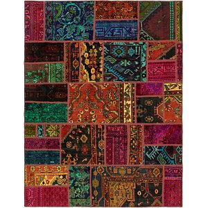 Unique Loom 5' 10 x 7' 5 Ultra Vintage Persian Rug