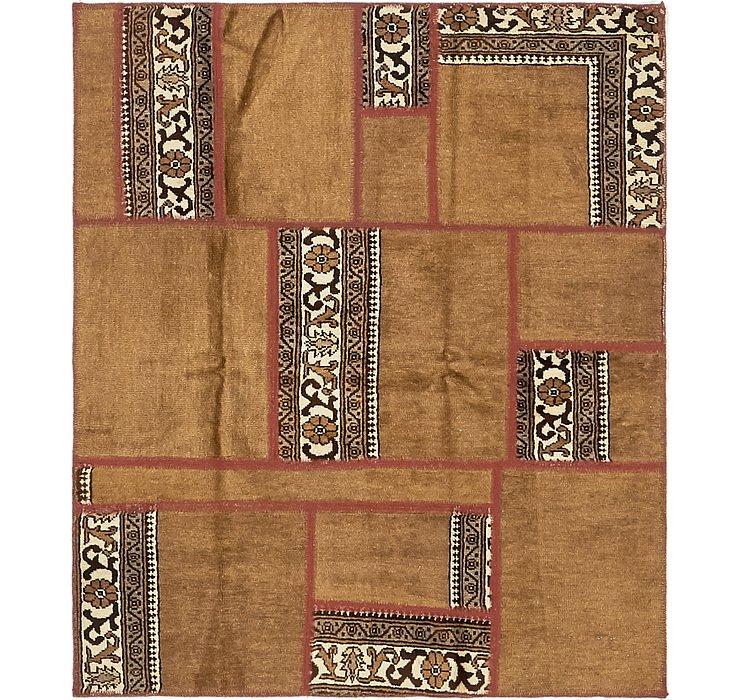 117cm x 140cm Ultra Vintage Persian Rug