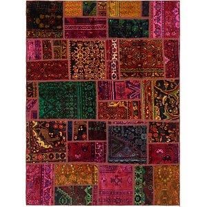 Unique Loom 5' 8 x 7' 9 Ultra Vintage Persian Rug