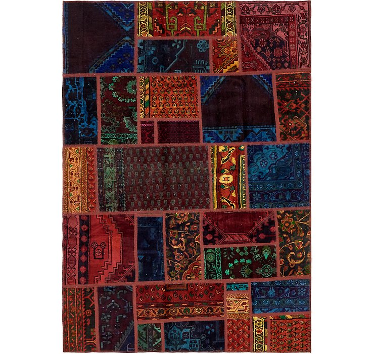 5' 4 x 7' 6 Ultra Vintage Persian Rug