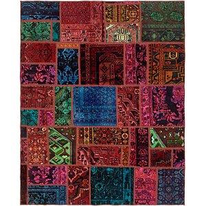 Unique Loom 6' x 7' 5 Ultra Vintage Persian Rug
