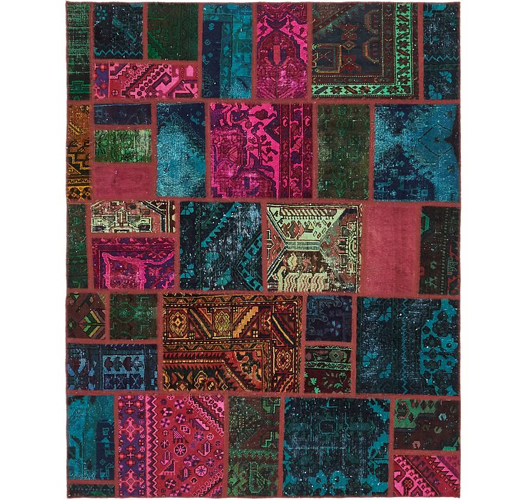 183cm x 225cm Ultra Vintage Persian Rug