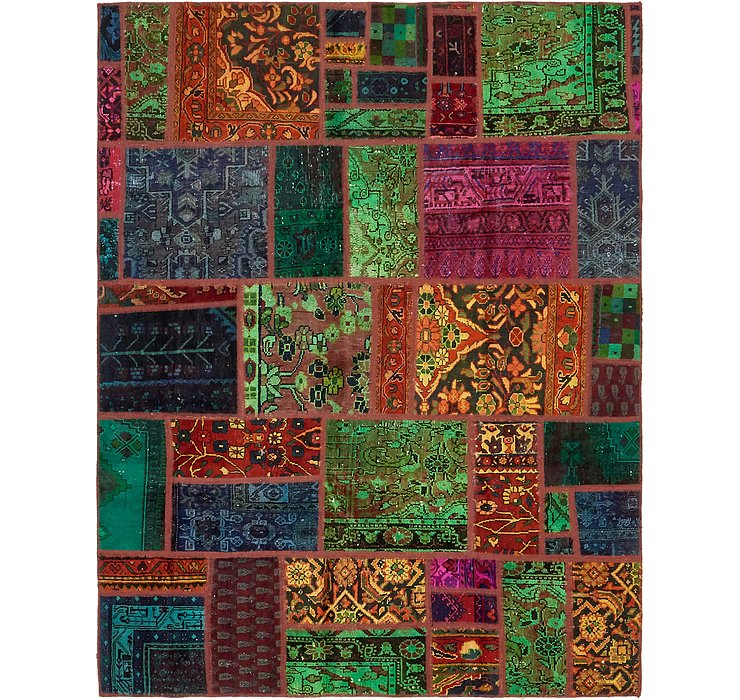 183cm x 230cm Ultra Vintage Persian Rug