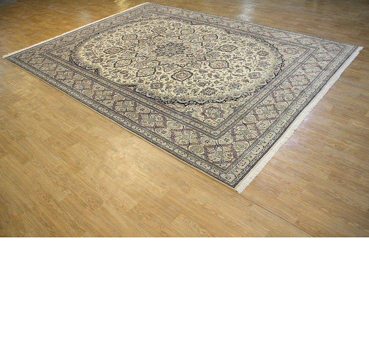 10' 3 x 13' 11 Nain Persian Rug