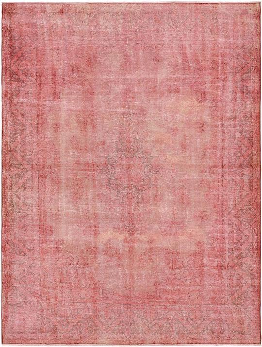 Pink 9 10 X 12 10 Ultra Vintage Persian Rug Persian