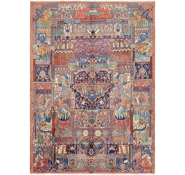 9' 5 x 13' 5 Kashmar Persian Rug