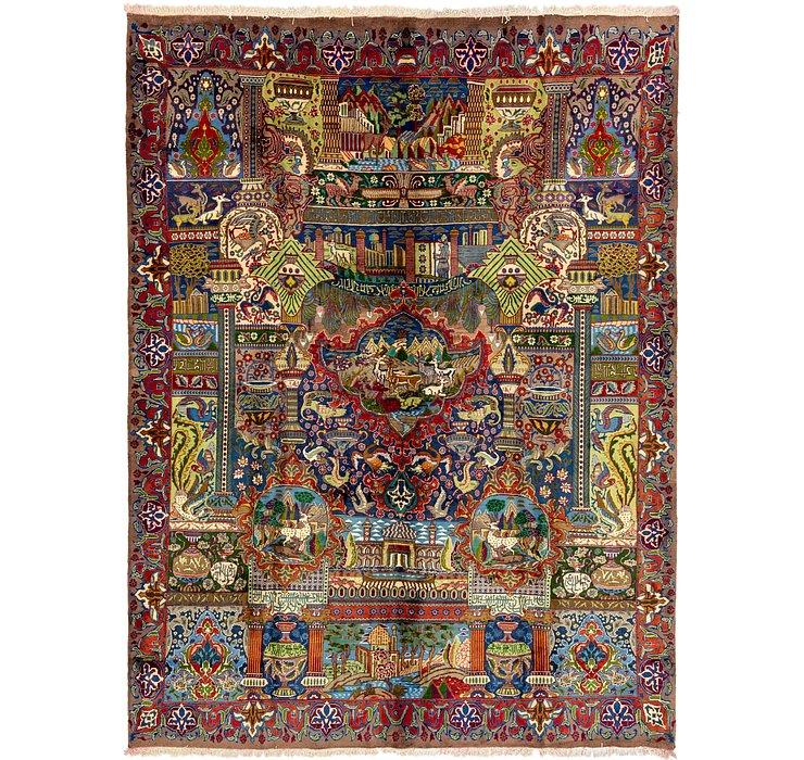 9' 7 x 13' 8 Kashmar Persian Rug