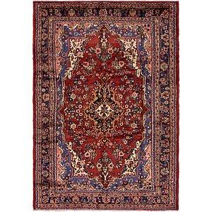6' 9 x 9' 10 Hamedan Persian Rug
