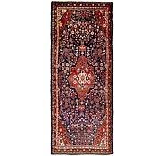 Link to 130cm x 343cm Hamedan Persian Runner Rug