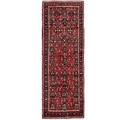 Link to 107cm x 302cm Hossainabad Persian Runner Rug