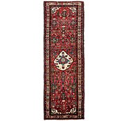 Link to 105cm x 323cm Hossainabad Persian Runner Rug