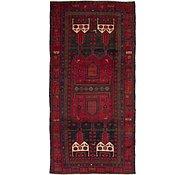 Link to 4' 9 x 9' 9 Koliaei Persian Runner Rug