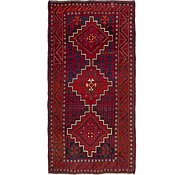 Link to 4' 11 x 9' 7 Shiraz-Lori Persian Runner Rug