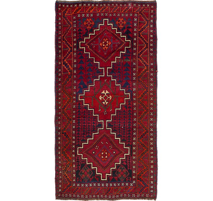 150cm x 292cm Shiraz-Lori Persian Run...