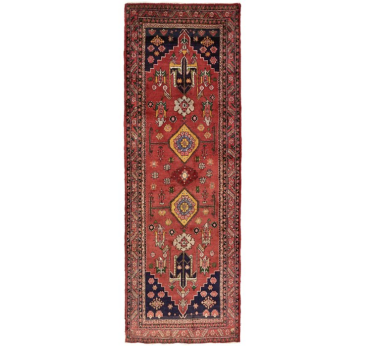 3' 9 x 10' 9 Gholtogh Persian Runner...