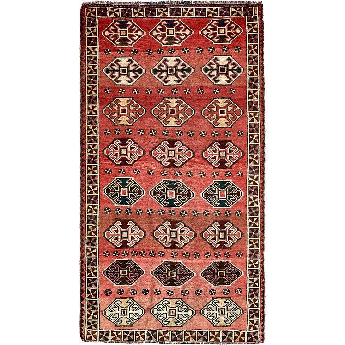 5' 3 x 9' 8 Shiraz-Lori Persian Rug