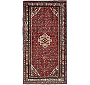 Link to 5' 5 x 10' 2 Hossainabad Persian Runner Rug