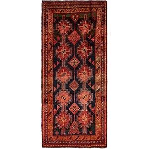 HandKnotted 4' 5 x 9' 9 Shiraz-Lori Persian Run...