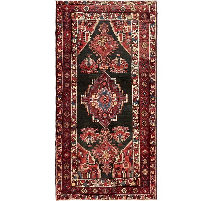 4' x 8' 1 Saveh Persian Runner Rug
