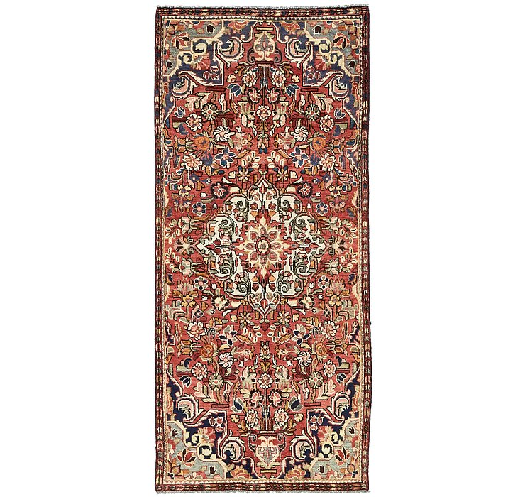 3' 10 x 8' 8 Borchelu Persian Runner...