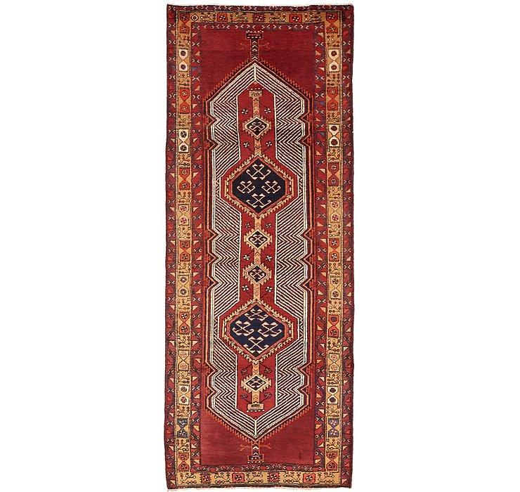 110cm x 315cm Meshkin Persian Runner ...