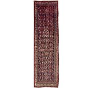 Link to 3' 8 x 13' 5 Hossainabad Persian Runner Rug