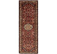 Link to 3' 7 x 10' 6 Hossainabad Persian Runner Rug