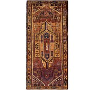 Link to 4' 7 x 10' 2 Shiraz-Lori Persian Runner Rug