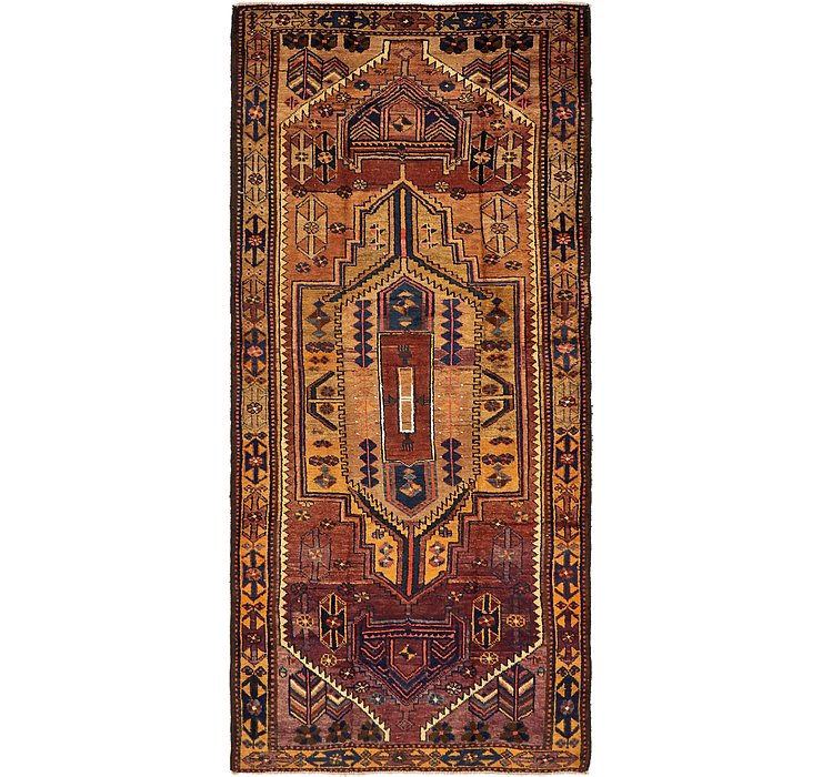 140cm x 310cm Shiraz-Lori Persian Run...
