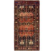 Link to 4' 10 x 9' 10 Hamedan Persian Runner Rug