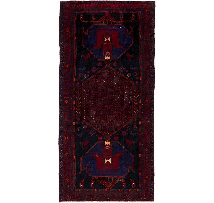 4' 11 x 10' 9 Sirjan Persian Runner Rug