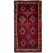 Link to 4' 9 x 9' 8 Shiraz-Lori Persian Runner Rug