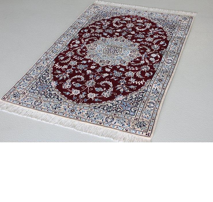 3' 3 x 4' 10 Nain Persian Rug