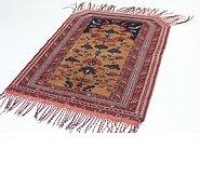 Link to 3' 4 x 4' 3 Torkaman Persian Rug