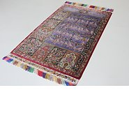 Link to 3' 5 x 5' 6 Qom Persian Rug
