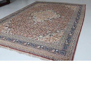 HandKnotted 9' 4 x 12' 10 Tabriz Persian Rug