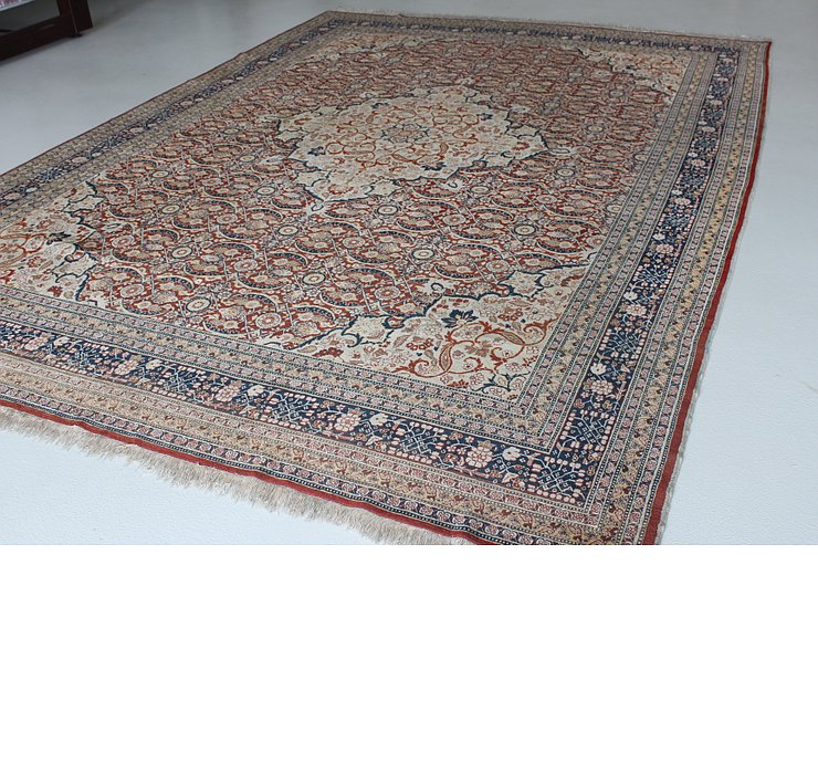 9' 4 x 12' 10 Tabriz Persian Rug