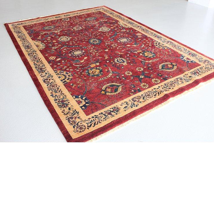 6' 9 x 9' 8 Meshkabad Persian Rug