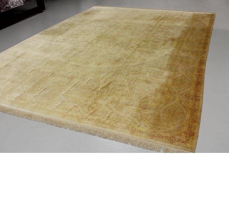 9' 10 x 13' Qom Persian Rug