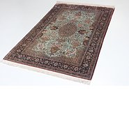 Link to 3' 6 x 5' 5 Qom Persian Rug