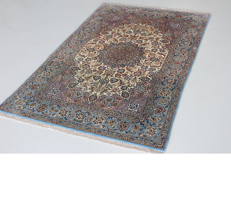 105cm x 165cm Isfahan Persian Rug