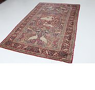 Link to 4' 7 x 7' 4 Yazd Persian Rug