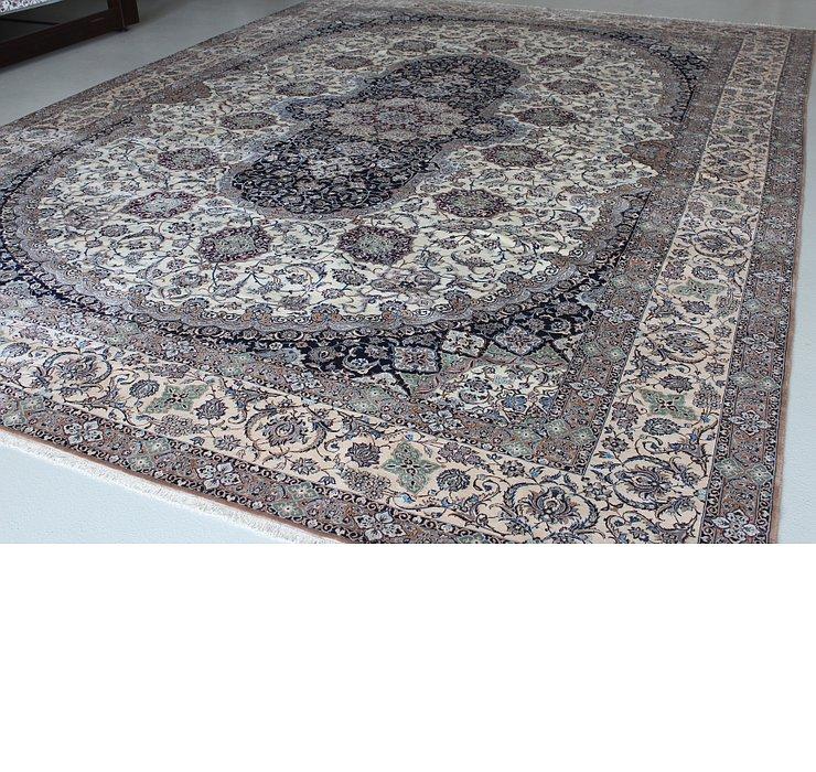 11' 6 x 16' 2 Nain Persian Rug