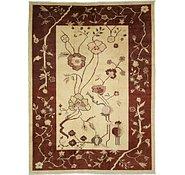 Link to 9' 2 x 12' 3 Floral Modern Ziegler Oriental Rug