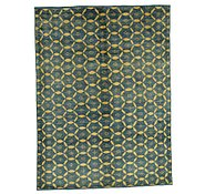 Link to 6' 7 x 8' 11 Checkered Modern Ziegler Rug