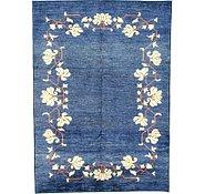 Link to 6' 9 x 9' 5 Floral Modern Ziegler Oriental Rug