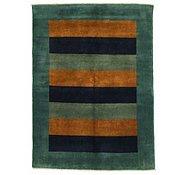 Link to 4' 9 x 6' 5 Striped Modern Ziegler Oriental Rug