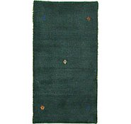 Link to 2' 5 x 4' 6 Indo Gabbeh Rug